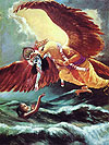 Krsna delivers His unalloyed devotee from the ocean of birth and death.