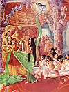 The insulting of Draupadi.
